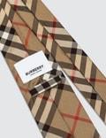 Burberry Modern Cut Vintage Check Silk Tie Narchive Beige Men