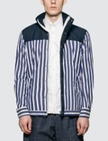 Sacai Dr. Woo Striped Shirting Shirt Picture