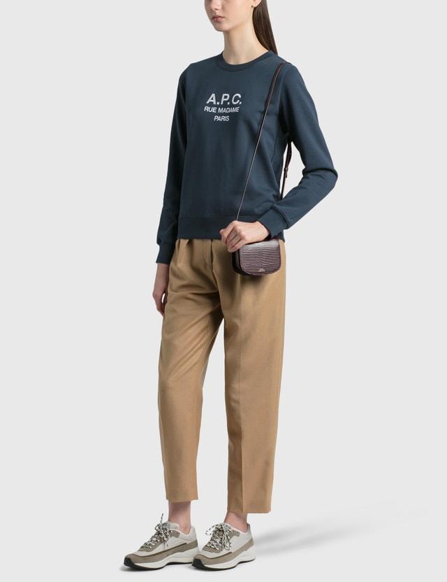 A.P.C. Mini Dina Bag Gae Vino Women