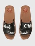 Chloé Woody Flat Mule Black Women