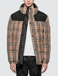 Burberry Reversible Vintage Check Recycled Polyester Jacket Picutre