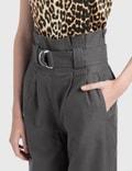 Ganni Chino Belt Pants Phantom Women