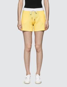 Thom Browne Shorts In Seersucker