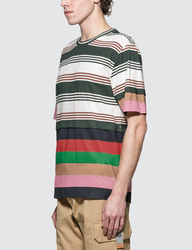 Loewe Double Layer Stripe S/S T-Shirt