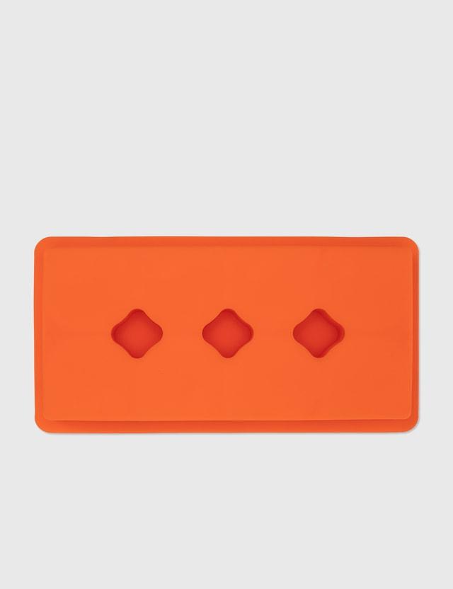 Carhartt Work In Progress C Logo Ice Cube Tray Carhartt Orange Unisex