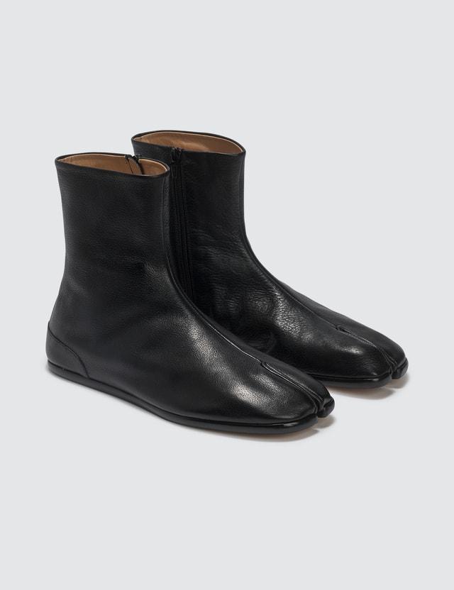 Maison Margiela Tabi Ankle Flat Boots