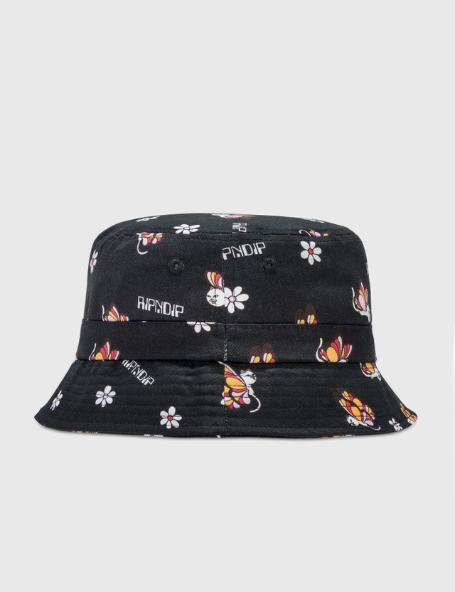 RIPNDIP Butterfly Bucket Hat Black Men