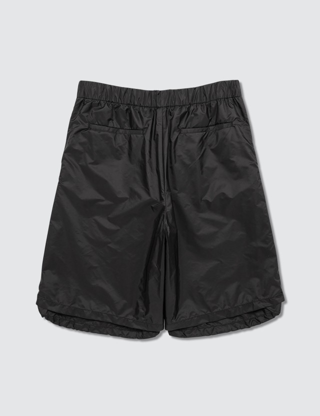 Prada Side Zip Detail Nylon Shorts
