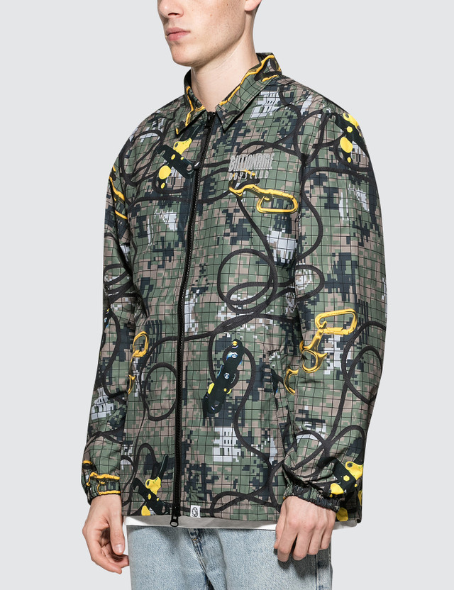 Billionaire Boys Club Climbing Camo Zip Jacket