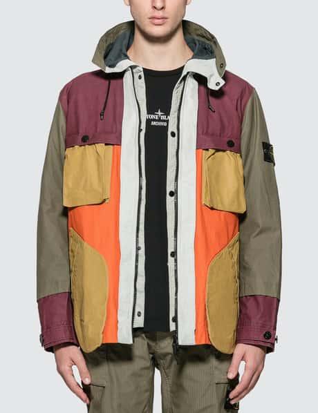 스톤 아일랜드 후드 필드 자켓 Stone Island Hooded Field Jacket