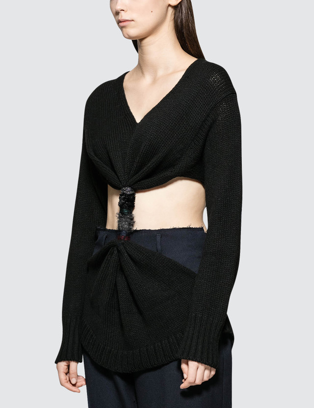 Loewe Embroidered Knot Sweater