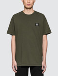 Stone Island S/S T-Shirt With Black Logo Patch Picture