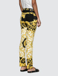 Versace Donna Pantalone Denim Jeans Multicolor Women