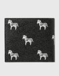 Thom Browne Zebra Print Billfold Wallet Black Men