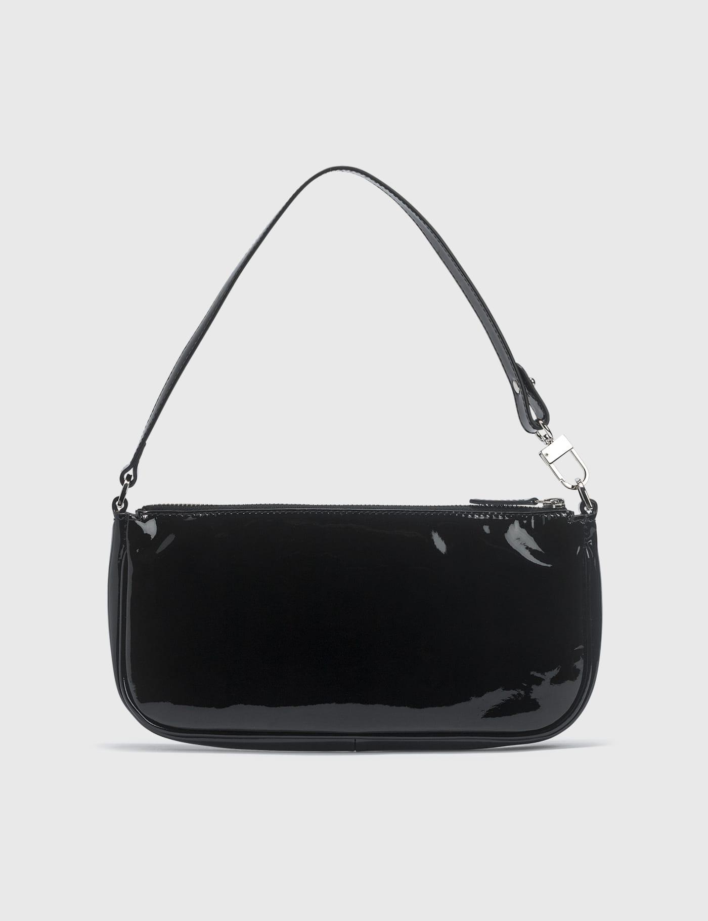 Rachel Black Patent Leather Bag