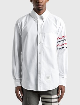 Thom Browne Animal Icon 4-Bar Shirt