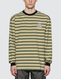 Pleasures Hangman Premium Striped Long Sleeve T-shirt 사진