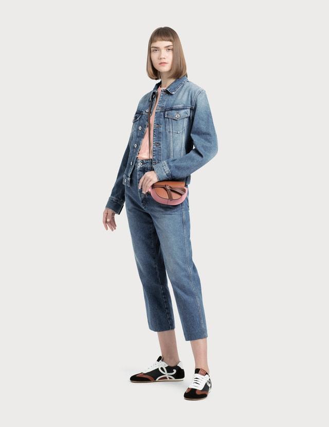 Loewe Fisherman Jeans Blue Women