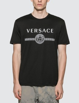 Versace Sustainable Logo Slim Fit T-shirt