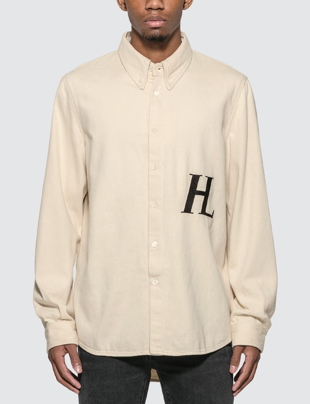 Helmut Lang Masc Button Down Shirt