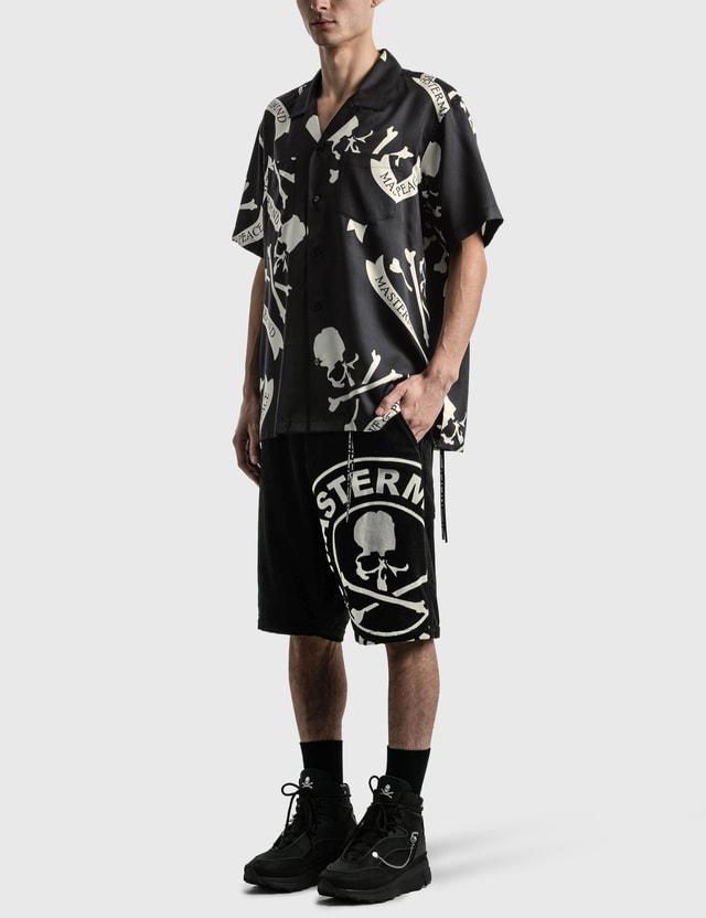 Mastermind Japan Tropical Skull Silk Short Sleeve Shirt