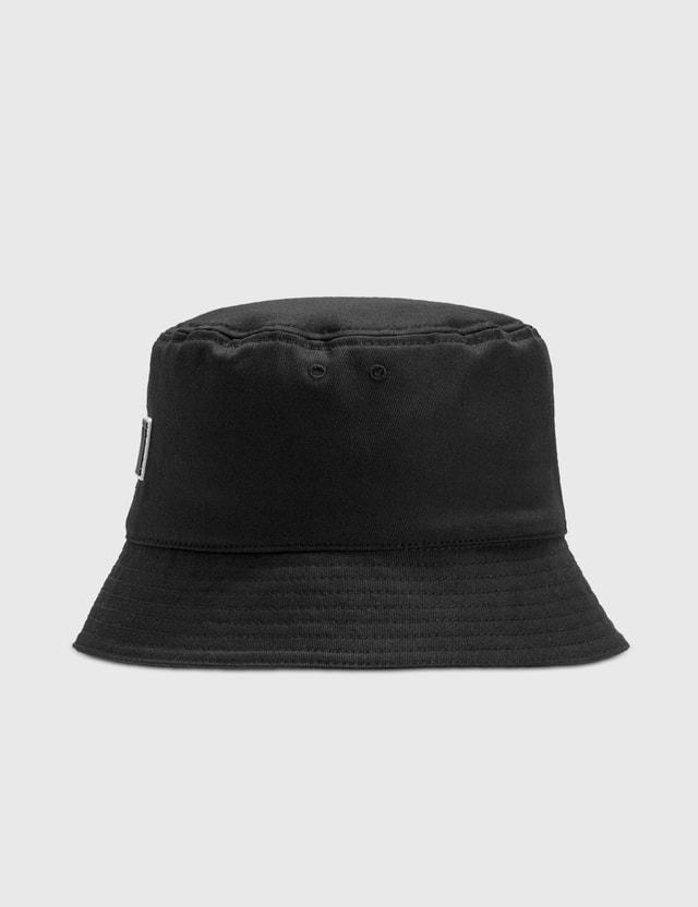 Valentino Valentino Garavani VLTN Cotton Bucket Hat Nero/nero-bianco Men