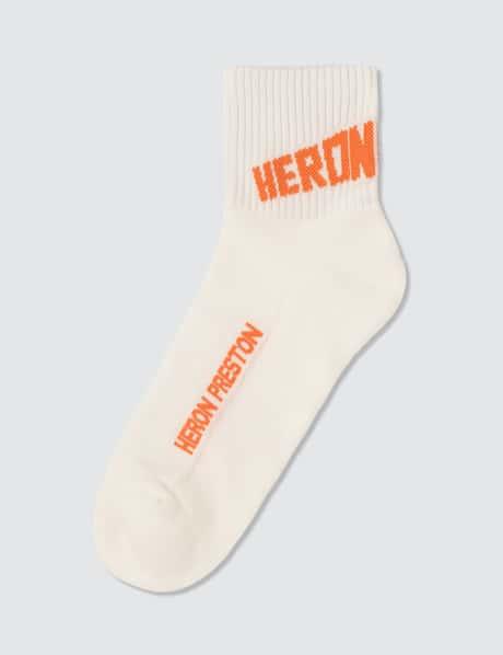 헤론 프레스톤 로고 양말 Heron Preston Logo Short Socks