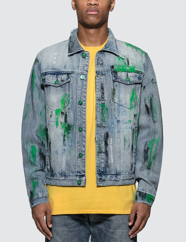 GEO Custom Denim Jacket