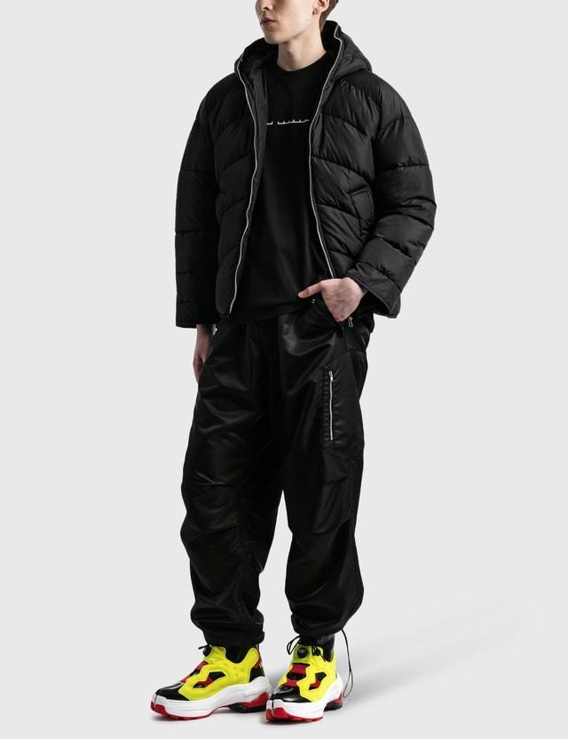 Random Identities Duvet Puffer Jacket Black Men