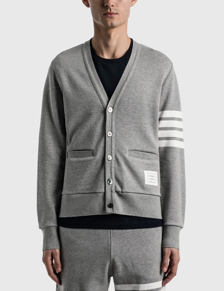 탐 브라운 Thom Browne V Neck Cardigan