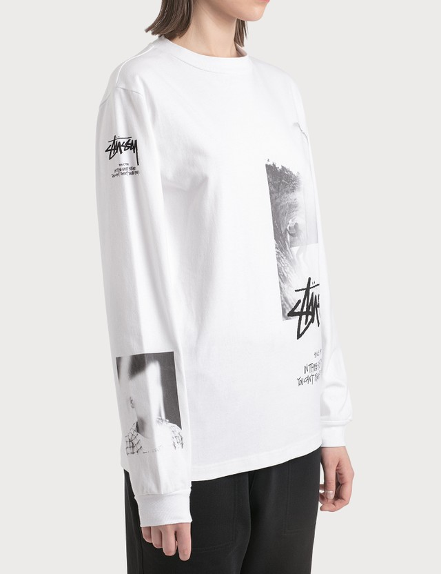 1017 ALYX 9SM 1017 ALYX 9SM x Stussy Long Sleeve T-Shirt White Women