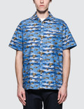 Lanvin Bowling S/S Shirt with Open Collar Picutre