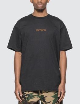 Carhartt Work In Progress Team Script T-shirt