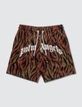 Palm Angels Tiger Mesh Shorts