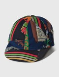 Sacai Hank Willis Thomas Archive E Print Mix Cap Navy Multi Men