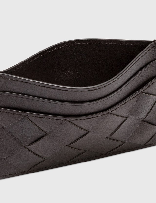 Bottega Veneta Intrecciato Leather Cardholder Fodente  Men
