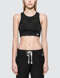 Champion Reverse Weave Logo Sports Bra Picture