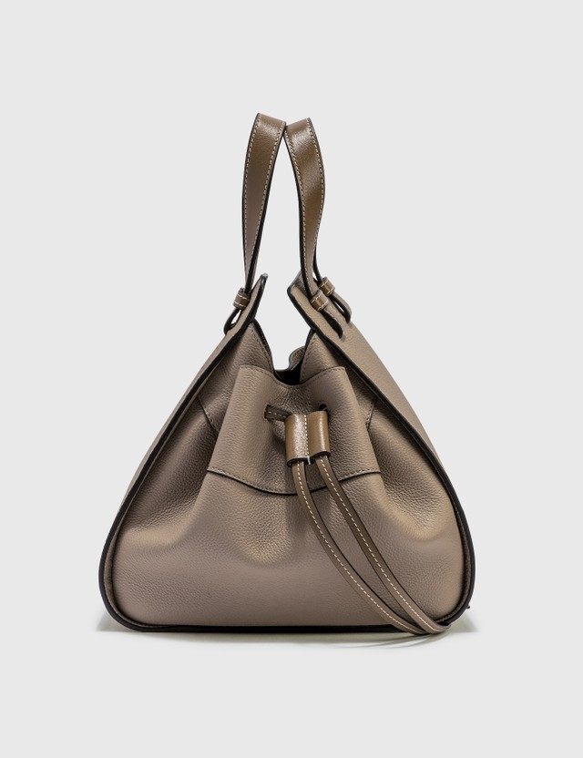 Loewe Small Hammock Drawstring Bag Sand/mink Color Women