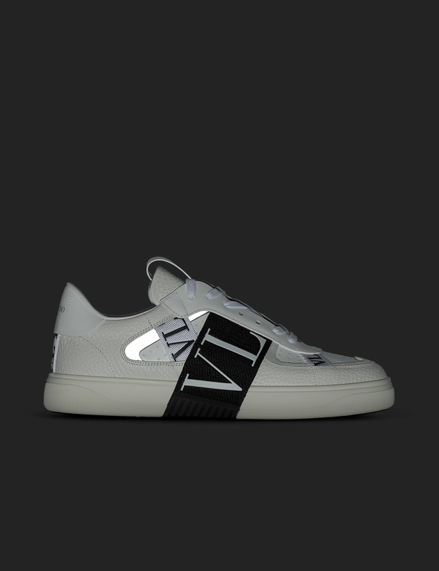 Valentino Valentino Garavani Calfskin VL7N Sneaker With Bands