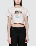 Fiorucci Vintage Angels Cropped Short Sleeve T-shirt Picture