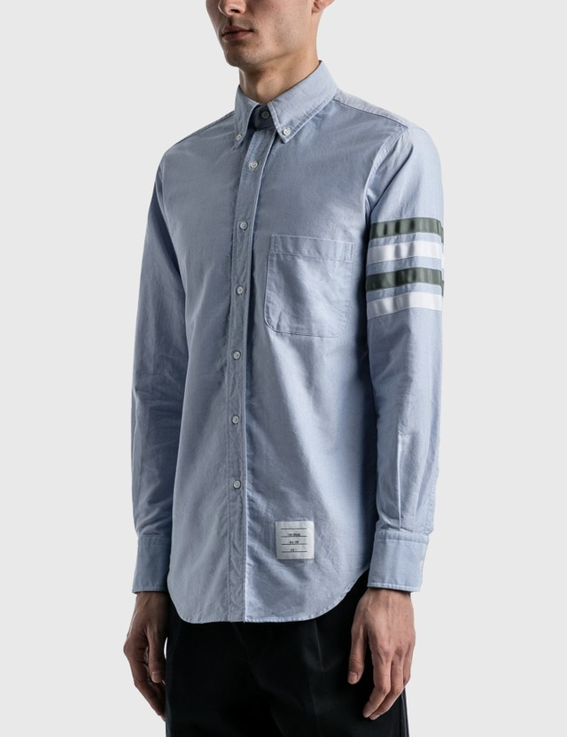 Thom Browne Classic Fit Oxford Shirt Light Blue Men