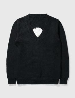 Mastermind Japan Mastermind Japan Skull V Neck Pullover Knitwear