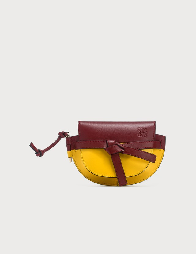 Loewe Mini Gate Colour Block Bag