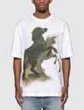 Acne Studios Horse Print T-Shirt 사진
