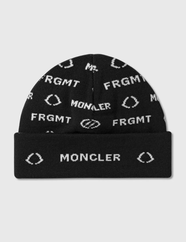 Moncler Genius Moncler Genius x Fragment Design Allover Logo Jacquard Beanie