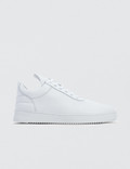 Filling Pieces Low Top Double Faced Perforated Sneakers Picture