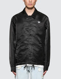 Alexander Wang NY Post Black Nylon Patched Coaches Jacket Picture
