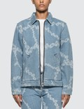 Aries Denim Chains Harrington Jacket Picutre