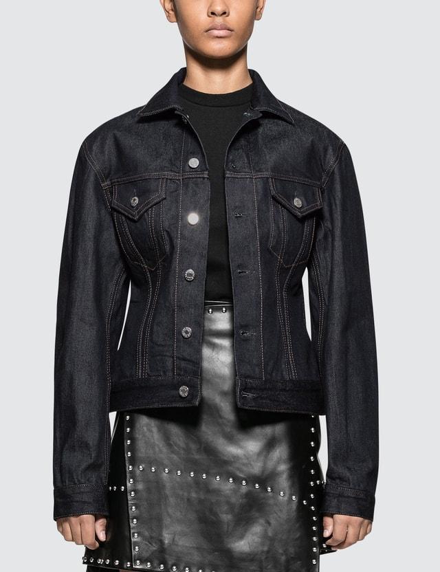 Helmut Lang Femme Trucker Jacket Indigo Women