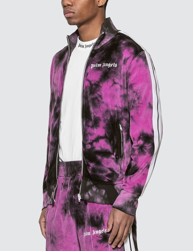 Palm Angels Tie Dye Chenille Track Jacket